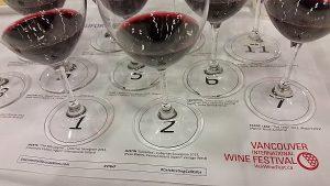 Celebrating California Cabs seminar wines