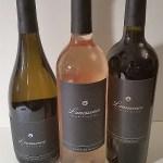 Lunessence Pinot Blanc Oraniensteiner Blanc de Noirs and MMXV Crescendo wines sm