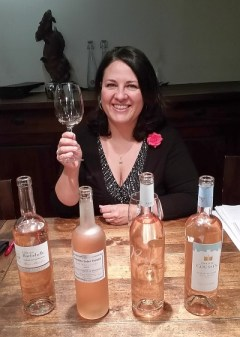 Valerie Lelong and rose wines from Provence