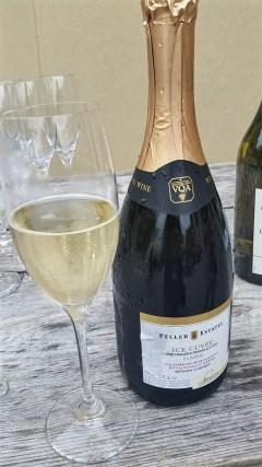 Peller Estates sparkling wine with ice wine dosage