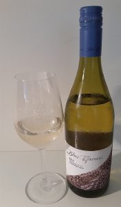 Blue Grouse Estate Pinot Gris 2016 and glass