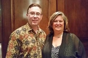 Karl MyWinePal with Sandra Oldfield from Tinhorn Creek