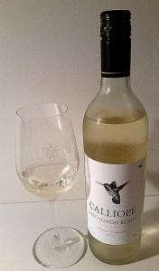 Calliope Sauvignon Blanc 2016