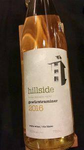 Hillside Winery & Bistro Gewurztraminer 2016