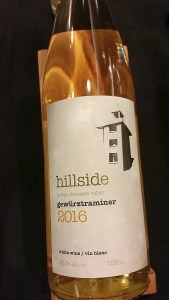 Hillside Winery & Bistro Gewurztraminer 2016