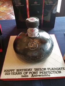 Taylor Fladgate 325 Special Edition Tawny Port birthday cake