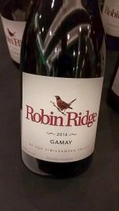 Robin Ridge Gamay Noir 2014