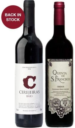 Cerejeiras Tinto and Quinta de San Francisco wines