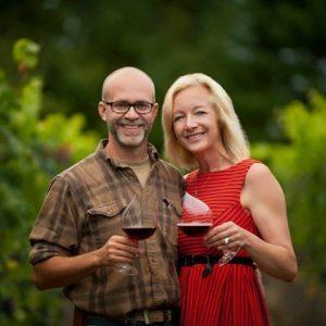 Layne Robert Craig and Brenda Hetman (Image courtesy http://www.visitparksvillequalicumbeach.com/find-40-knots-winery)