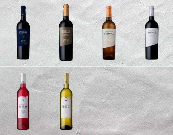 A selection of Herdade das Servas wines