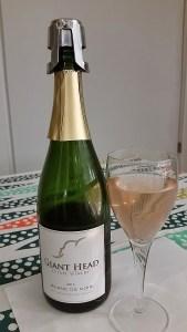 Giant Head Estate Winery Blanc de Noir sparkling wine