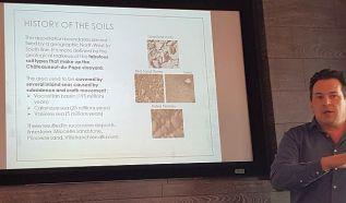 Raphael Pommier speaks about the soils of Chateauneuf-du-Pape