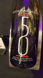 50th Parallel Estate Riesling 2016