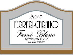 Ferrari-Carano Fume Blanc label