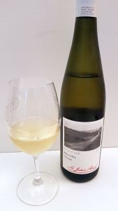 St. John's Road Eden Riesling 2014 and wine in glass