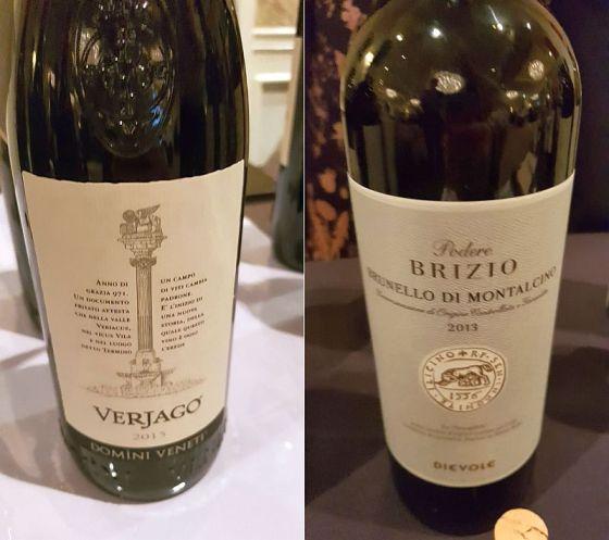 Domini Veneti Verjago Valpolicella Classico 2015 andDievole Podere Brizio Brunello di Montalcino 2013