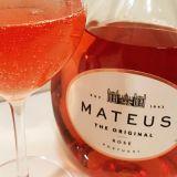 Mateus The Original Rose wine close up