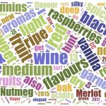 BC red wine word cloud for 2018