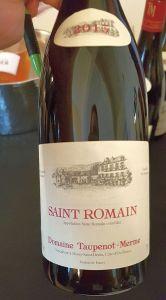 Domaine Taupenot-Merme Saint Romane 2015