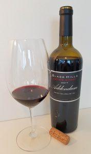 Black Hills Estate Winery Addendum 2017 with wine in glass