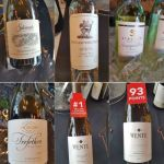 A selection of white California wines at VanWineFest 2019