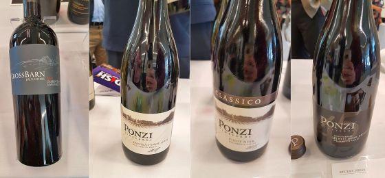 Paul Hobbs Winery Crossbarn Napa Valley Cabernet Sauvignon 2015, and Ponzi Vineyards Tavola Pinot Noir 2017 Classico Pinot Noir 2015 and Reserve Pinot Noir 2015 at DISH