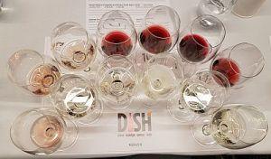 USA seminar wines at DISH