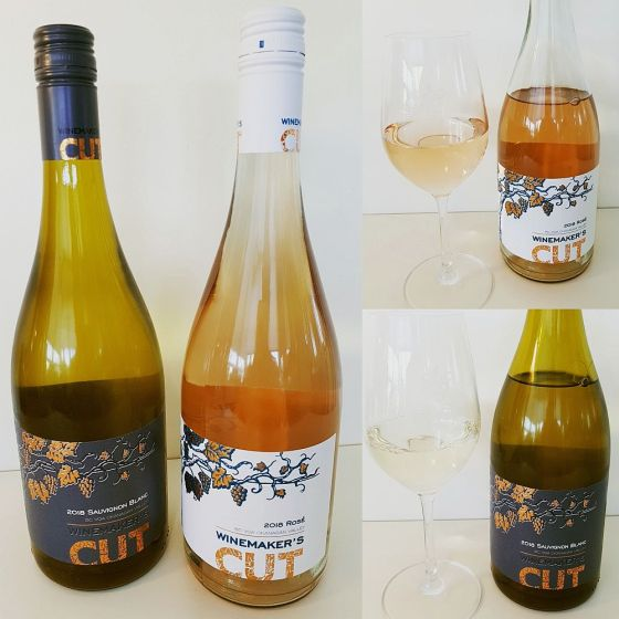 Winemaker's CUT Sauvignon Blanc and Rose wines 2018