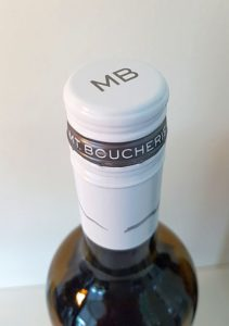 Mt. Boucherie wine bottle capsule