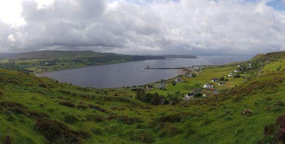 Ouig Bay view