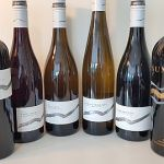 The lineup of the latest wines released by Mt. Boucherie Estate Winery