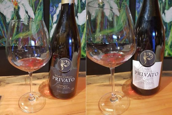 Privato Woodward Collection North of 50 Pinot Noir and Woodward Collection Tesoro Pinot Noir 2016