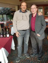 Karl MyWinePal with Bernard Duseigneur