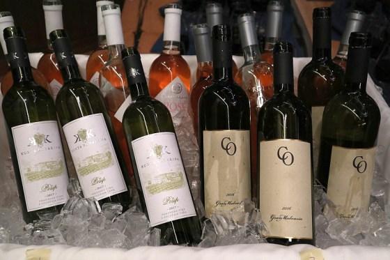 Franc Arman Winery Istria Rosé 2018, Korta Katarina Posip 2017, and Coronica Wines Gran Malvazija 2016 wines