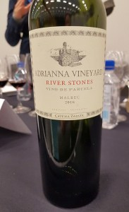 Bodega Catena Zapata Adrianna Vineyard River Stones Malbec 2016