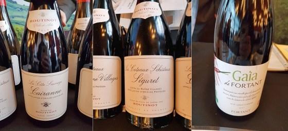 Domaine Boutinot La Cote Sauvage Cairanne AOC 2016 and Les Coteaux Schisteux Seguret Cotes du Rhone Villages 2016, and Fortant de France Gaia Saint-Chinan Organic 2017 wines at VanWineFest 2020