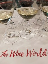 French Terroir Talk wines in glass