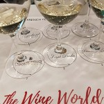 French Terroir Talk wines in glass
