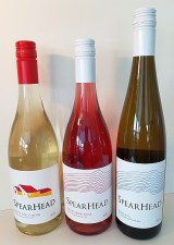 SpearHead White Pinot Noir, Pinot Noir Rose, and Riesling 2019 wines