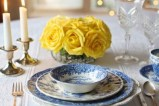 Place setting for Mother's Day