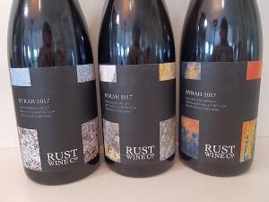 Rust Wine Co 3 Syrahs 2017