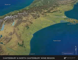 Canterbury & North Canterbury Wine Region in New Zealand