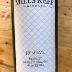 Mills Reef Reserve Gimblett Gravels Merlot 2018