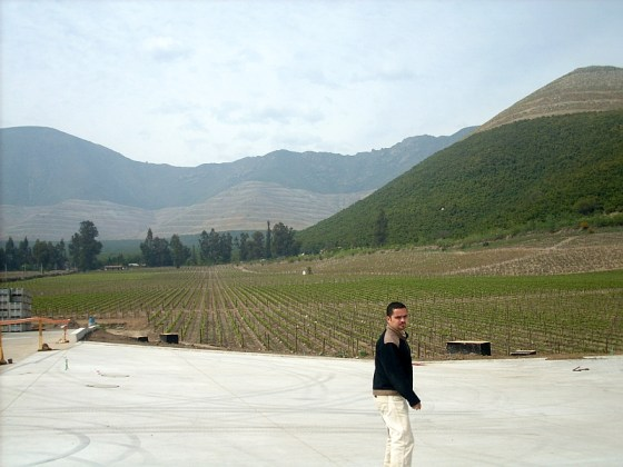 My winery guide at Vina Errazuriz
