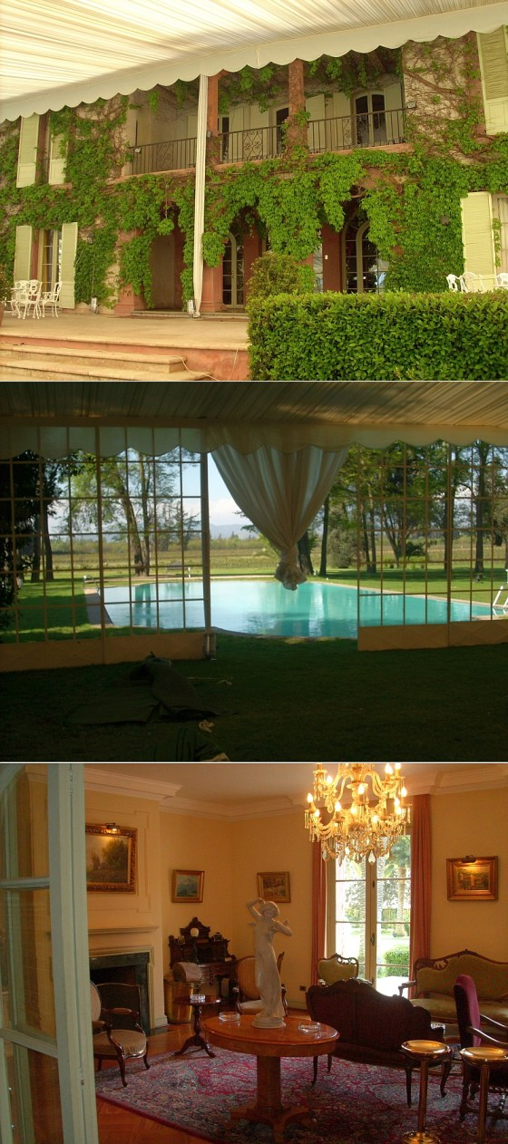 The beautiful house with tasting room for Viña Tarapaca ex Zavala