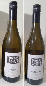 Church & State Wines Viognier and Marsanne 2017