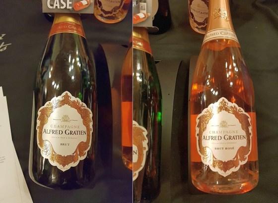 Alfred Gratien Champagne Brut Classique and Rosé Classique NV