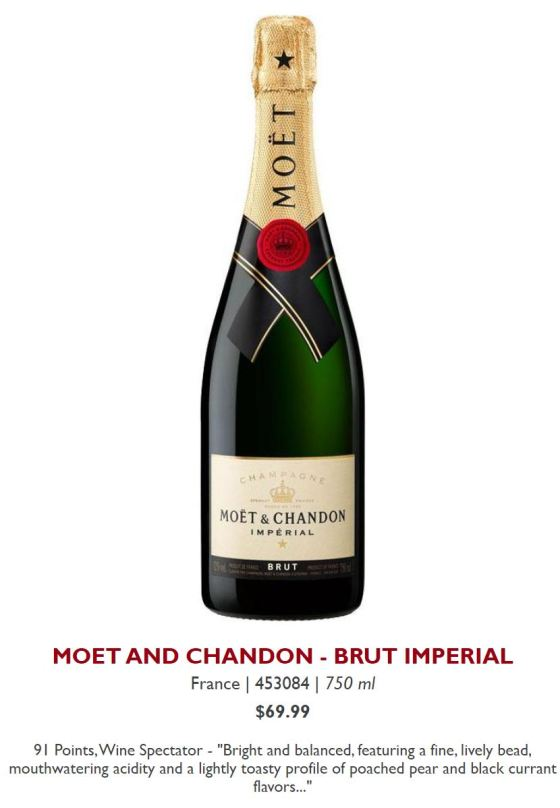 MOET AND CHANDON - BRUT IMPERIAL