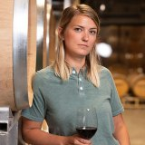 Lynzee Schatz winemaker at TIME Estate Winery (Image courtesy Evolve Cellars)