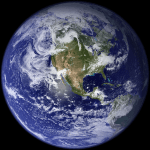 Earth from Space (Image courtesy NASA)